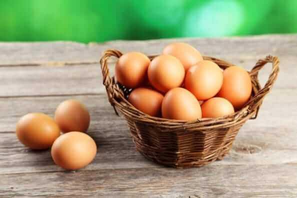 卵が沢山ある