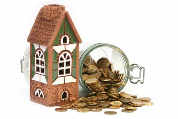 コインと家