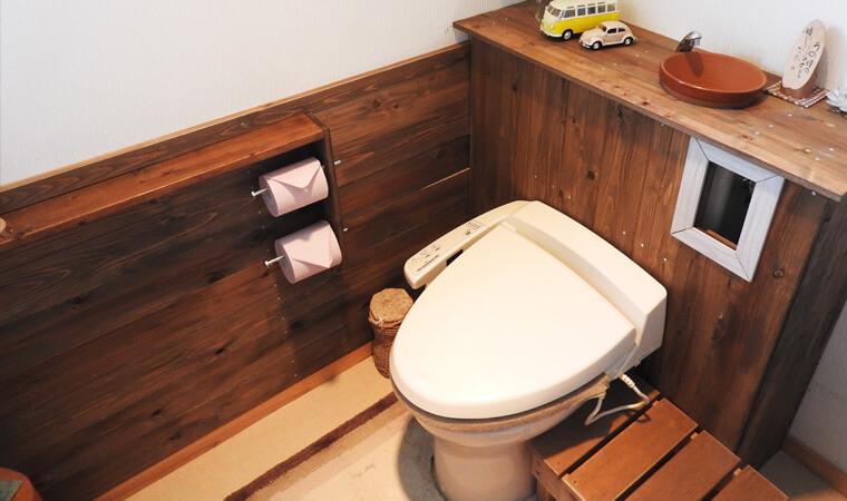【DIY空室対策:トイレ編】「なんちゃってタンクレス」でトイレをおしゃれに