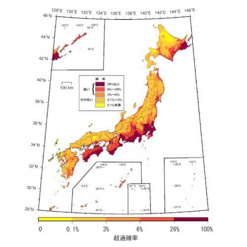 全国地震動予測地図2018年版の概要